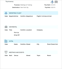 Trip Planner Excel Vacation Planner Template Excel 2018 Printable Lytte Co