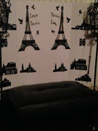 Paris Themed Living Room Decor Furniture Designer Curtains Beach House Decorations Ideas For