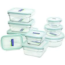 glasslock 18 piece assorted oven safe container set
