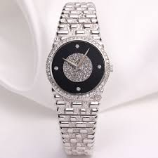 pre owned used second hand piaget watches watchcollectors co piaget pave diamond dial 18k white gold