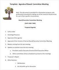 Agenda Samples In Word Custom Hoa Meeting Agenda Engneeuforicco