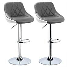 Faux Leather - Barstools / Home Bar Furniture: Home ... - Amazon.co.uk