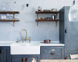 costume designer turned interiors designer mark lewis uses double bowl sinks in many of his