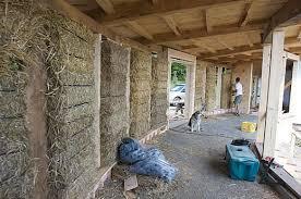 Earth Sweet Home   Off the Grid Straw Bale ConstructionStraw Bale Walls  Green Building Systems