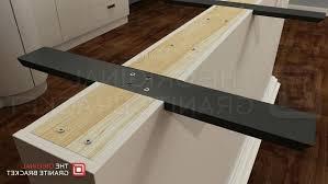 countertop support brackets home depot granite wood