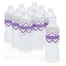 Lavender Baby Shower Decorations Chevron Purple Baby Shower Theme Bigdotofhappinesscom