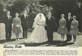 Wedding Bells - Nelson Photo News - No 16 : March 3, 1962