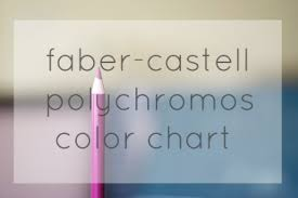 Faber Castell Polychromos Color Chart Faber Castell Polychromos Colour Chart Inkstruck Studio