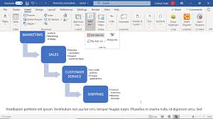 How To Create A Microsoft Word Flowchart
