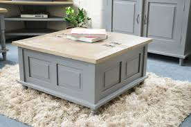 square shabby chic coffee table ideas