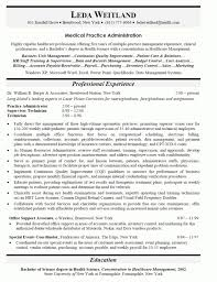 Medical Practice Administrator Sample Resume Adorable Office Manager Resume Sample Job Description For Image Examples