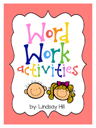 Activities Word Live Laugh Learn In Second Grade Word Work Activities