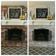 white washed brick fireplace like your dark red fireplace white wash the brick white wash painting