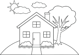 Free Simple Coloring Pages Free Simple Coloring Pages House Best Of