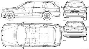 The-Blueprints.com - Blueprints > Cars > BMW > BMW 3-Series ...
