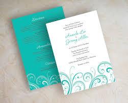 orange and turquoise wedding invitations. teal wedding invitation contemporary orange and turquoise invitations u