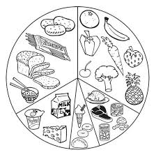 Small Picture Pretty Healthy Foods Coloring Pages Healthy Food Coloring Pages