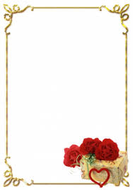 Frames For Photoshop Wedding Background Png Download Free Clipart With A