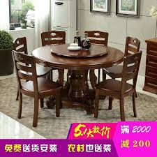 amazing chinese dining table p6292829 2 meters solid wood dining table chair combination round with the