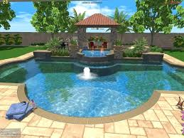 3d Swimming Pool Design Software Studio Landscape Image 2