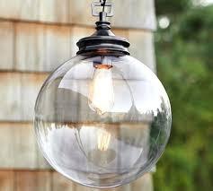 pottery barn outdoor lighting. Outdoor Barn Light Fixture Glass Indoor Pendant Pottery Fixtures . Lighting