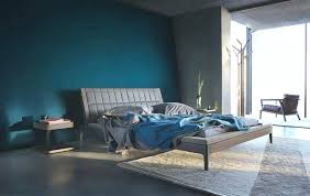 painting a bedroom grey blue wall paint bedroom floor blue wall paint along headboard bed also