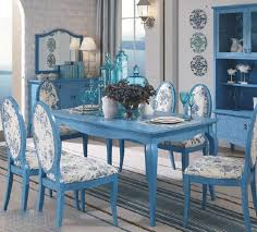 pale blue dining room chairs