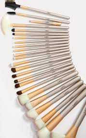 24 Piece <b>Champagne Makeup Brush</b> Set | Beauty | PrettyLittleThing