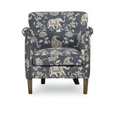 add this isabelle chambray blue accent chair to a bedroom or living room notice the beautiful and thick material with deep and rich colors then picture