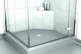 medium size of diy custom tile shower pan installation redi install kit in systems center drain