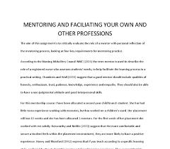 reflecting on nurse mentoring essays edu essay