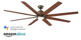 smart home enabled ceiling fans