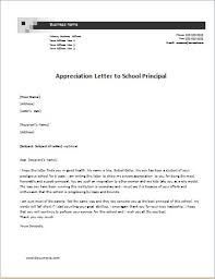 teacher appreciation letter from principal 6 appreciation letter templates for ms word document templates