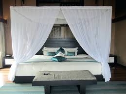 bed curtain canopy thick curtains home design white styles as well drapes  for large master in