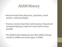 Ppt Asam Ppc 2r Patient Placement Criteria 101 Powerpoint