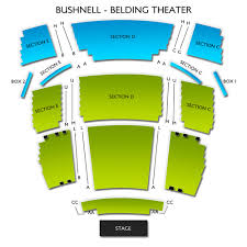 Comcast Theatre Hartford Ct Seating Chart Belding Theater At The Bushnell 2019 Seating Chart