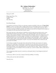 Speculative Cover Letter Examples Food Engineer Cover Letter