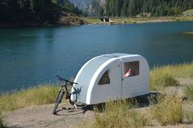 Bike Camper Trailer Foldable Wide Path Camper Is A Whole Different Kind Of Bike
