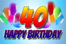 40 Geburtstag Bilder Und Sprüche