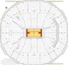Fedexforum Seating Chart With Seat Numbers Basketball Plan Memphis Grizzlies Nba Tigers Ncaa Games