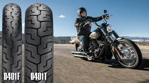 Dunlop Introduces New Harley Davidson Tires For 2018
