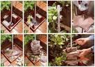 Изготовление комнатного фонтана