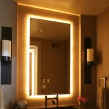 bathroom mirror with lights built in. tags: bathroom led mirror modern mirrors with demisters lights built in d