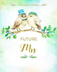 Party Planning Lists Amazon Com Future Mrs Wedding Planner Organizer Checklists