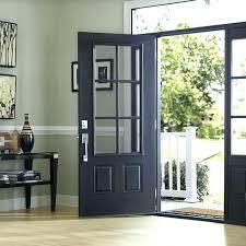 front door glass inserts doors wood cover oval