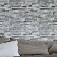 stone stripe wood textured wallpaper walls
