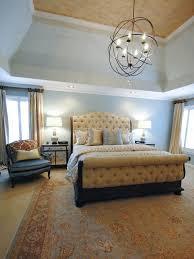 Yellow  Gray Master Bedroom Paisley McDonald HGTV - Transitional bedroom