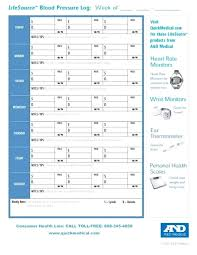 Blood Pressure Tracking Sheet Blood Pressure Chart Template Free New Printable Graph Bp