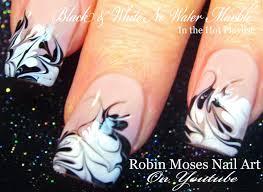 Robin Moses Nail Art: No water Marble Nail art Design tutorial