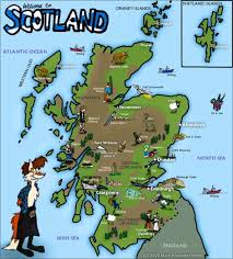 maps update  scotland tourist attractions map – map of